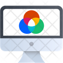 Colored Design Thinking Icon