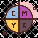 Cmyk Print Icon