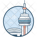 Cn Tower Building Icon