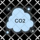 Co Air Carbone Dioxide Icon