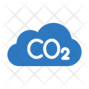 Co Cloud Weather Icon