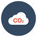 Co 2 Carbon Dioxide Natural Gas Icon