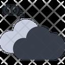 Co 2 Cloud Carbon Dioxide Air Pollution Icon