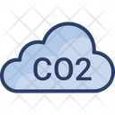 Co 2 Ecology Green Icon