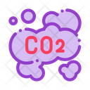 Co 2 Gas Icon