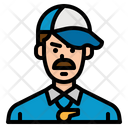 Coach Trainer Professions Icon