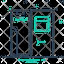 Coach Door Icon