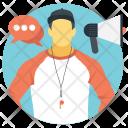 Coaching Training Instructing Icon