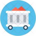 Coal Cart Chariot Icon
