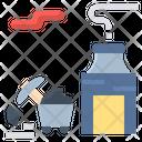 Coal Mine Mineral Icon