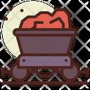 Coal Coal Cart Mining Cart Icon