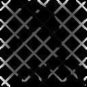 Coal Mining Pickaxe Icon