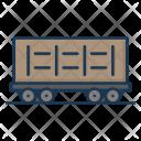 Coal Cart Railway Icon