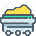 Coal Wheelbarrow Goal Icon