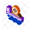 Mobile Boat Coal Icon