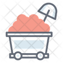 Coal Cart Icon