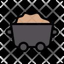 Coal Mine Labor Icon