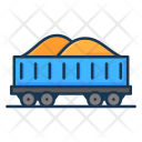 Coal Cart Construction Icon