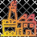 Coal Factory Energy Power Icon