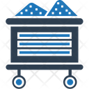 Coal Mine Trolley Gold Mine Minecart Icon