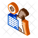 Coal Production Plant Icon