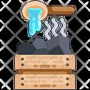 Coal Sauna Coal Sauna Treatment Icon
