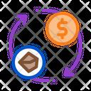 Selling Coal Money Icon