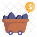 Coal Trading Icon