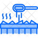 Coal Hot Water Icon