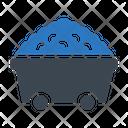 Coal Trolley Mine Icon