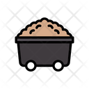 Mine Trolley Coal Icon