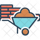 Coal Trolley Material Goods Icon