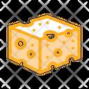 Coarse Cheese Bar Icon
