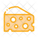 Coarse Triangular Cheese Icon