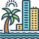 Coast Beach Hotel Icon