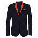 Coat Blazer Suit Icon