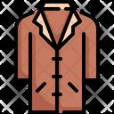Coat Winter Jacket Icon
