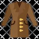 Clothing Coat Dress Icon