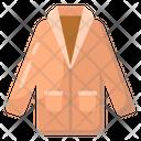 Coat Overcoat Winter Clothing Icon