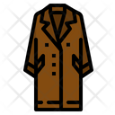 Coat Scarf Garment Icon