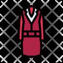 Coat Suit Blazer Icon
