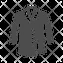 Coat Down Jacket Winter Clothe Icon