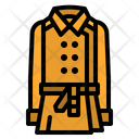 Coat Cloth Casual Icon