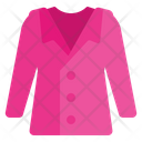 Coat Wear Outfit Icon