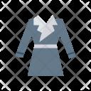 Coat Dress Jacket Icon