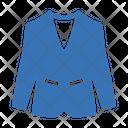 Coat Dress Luxury Icon