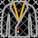 Coat Dress Blazer Icon
