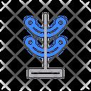 Stand Wardrobe Interior Icon