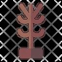 Coat Stand Hanger Rack Icon