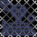 Snake Serpent Animal Icon